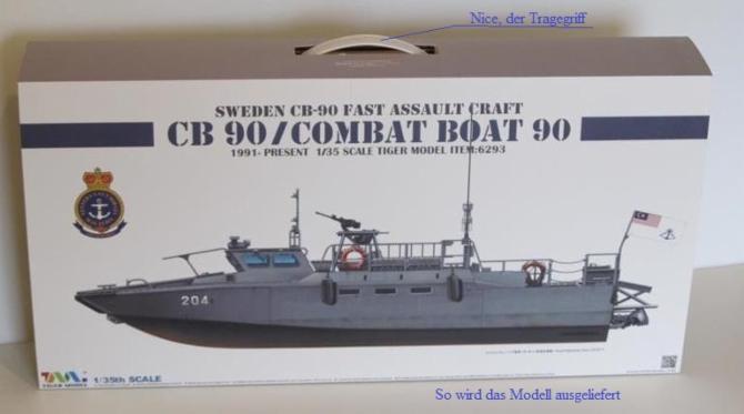 CB 90 Combat Boat in Scale 1:35 von Tiger Model _wsb_670x378_CB90_8935D